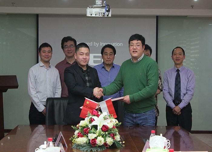 Церемония подписания контракта в Индонезии