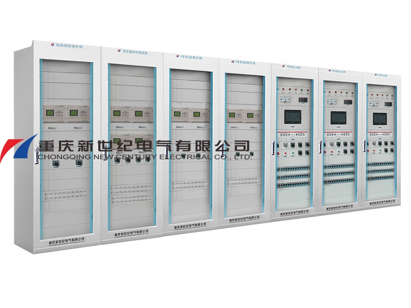 Measuring and control and protection system for PV power station