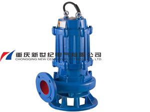 Water pump for pump station