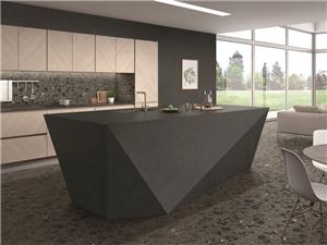 Black Residential Engineering Marble