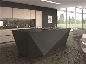 Черная плитка из мрамора, устойчивая к пятнам