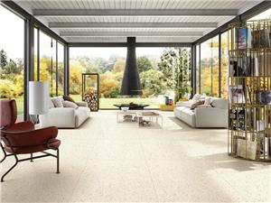Outdoor Facade Terrazzo Tile Design