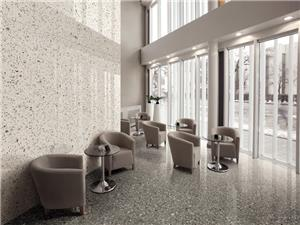 Grey Marble Large Particle Terrazzo Tiles