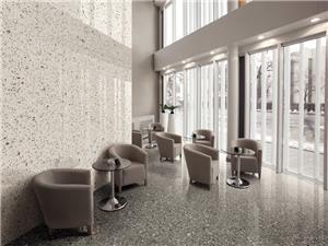 Grey Marble Terrazzo Tiles