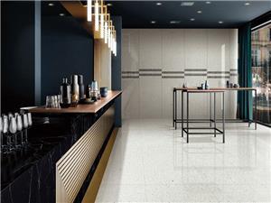 Precast terrazzo cement floor tile