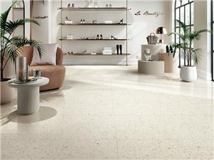Beige Terrazzo Marble Tile