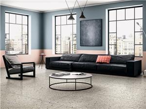 Цементный пол для жилых помещений Terrazzo