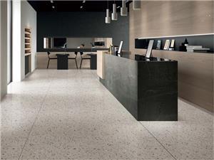 Grey Marble Interior Floor Terrazzo