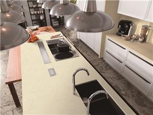 Polular Cream Marfil Rectangle Countertop