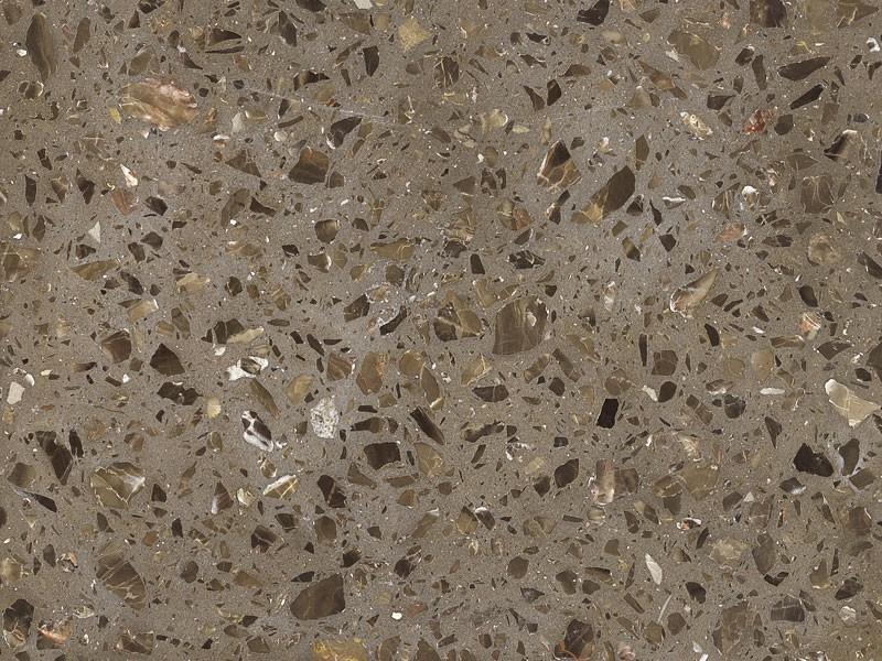 Brown Inorganic Marble Floor Tile
