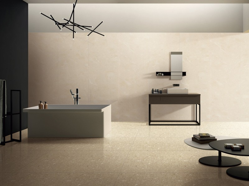 Cream Inorganic Marble Floor Tile Manufacturers, Cream Inorganic Marble Floor Tile Factory, Supply Cream Inorganic Marble Floor Tile