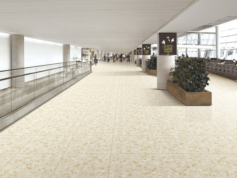 Cream Commercial Inorganic Marble Tile