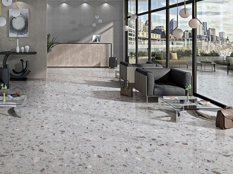 Grey Residential Inorganic Marble Flooring Tile Manufacturers, Grey Residential Inorganic Marble Flooring Tile Factory, Supply Grey Residential Inorganic Marble Flooring Tile