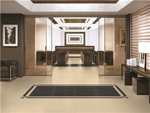 Cream Engineered Polished Marble Tiles