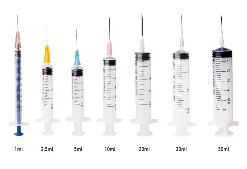 plastic syringe
