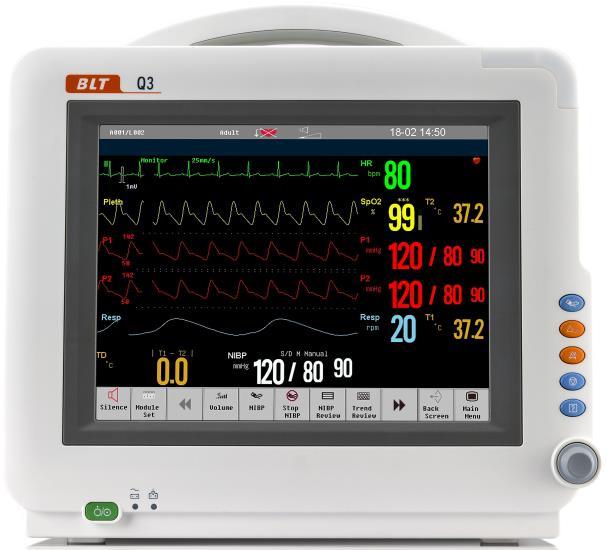 pulse oximeter monitor