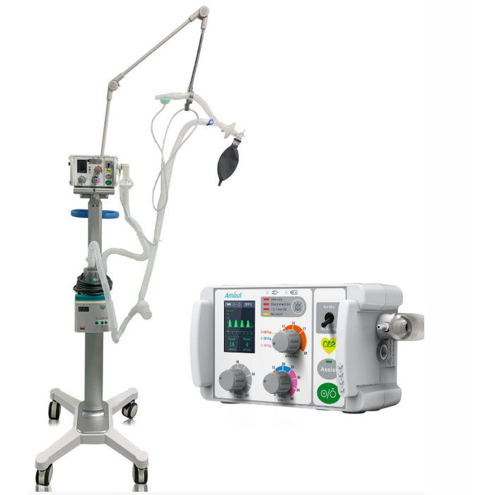 breathing ventilator machine