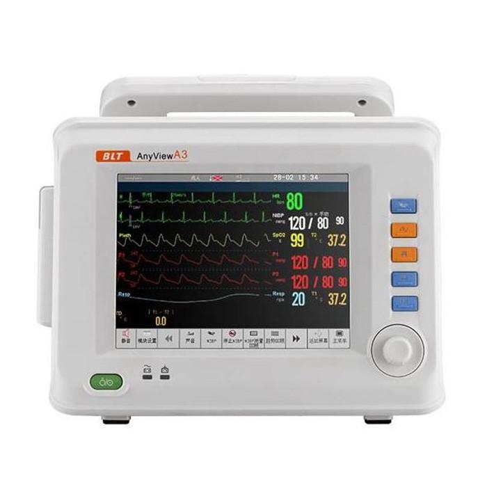Portable Multi Parameter Heart Monitor