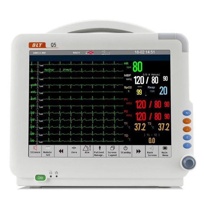 Integrated Plug In Type Patient Monitor