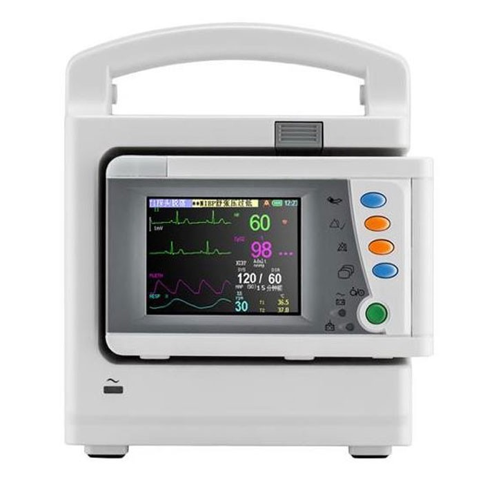 Hospital ICU Multi Parameter Patient Monitor