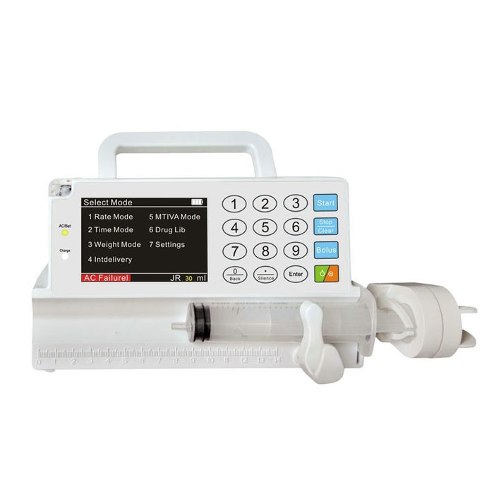 Hospital ICU Portable Syringe Pump