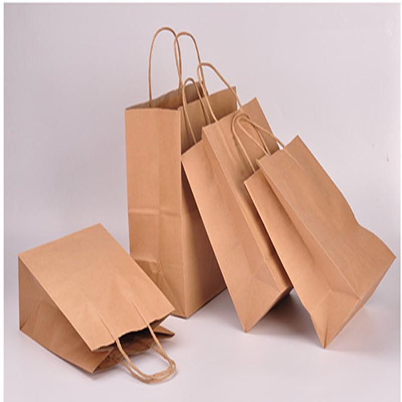 Bolsas de papel Kraft personalizadas