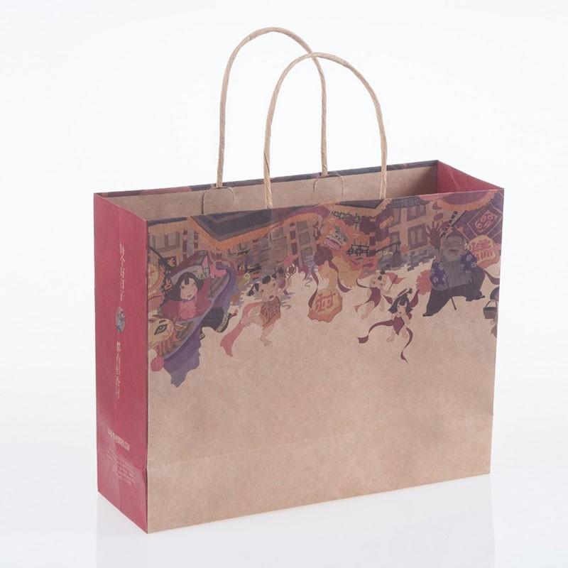 Bolsas de papel personalizadas con asas