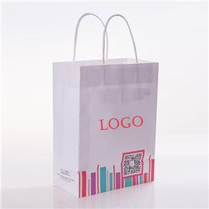 Custom Printed Bulk Paper Bags With Handles