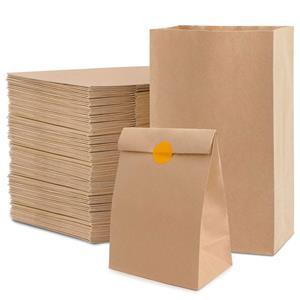 Bolsas de almuerzo de papel personalizadas