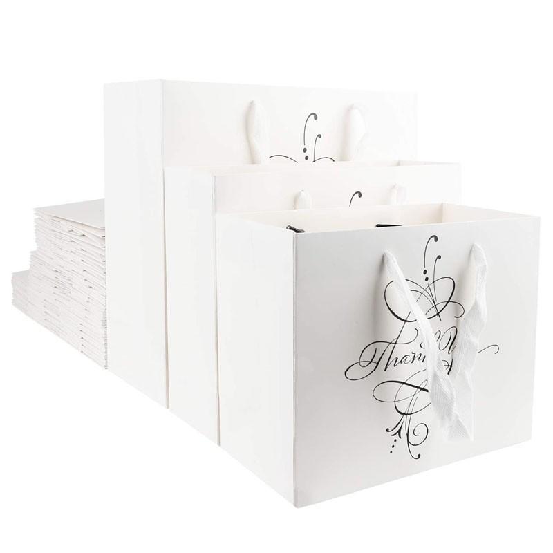Bolsas de papel impresas personalizadas Bolsas de papel de marca