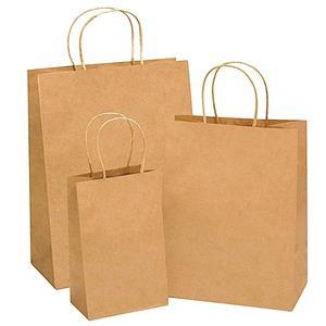 Auto Machine Paper Bag With J Cut Handles