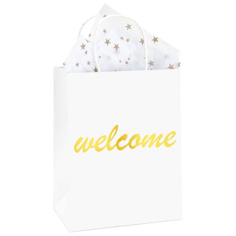 Bolsas de papel impresas especializadas personalizadas