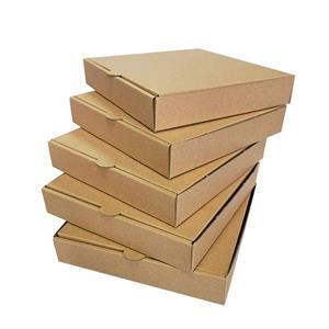 Cajas de pizza marrones personalizadas