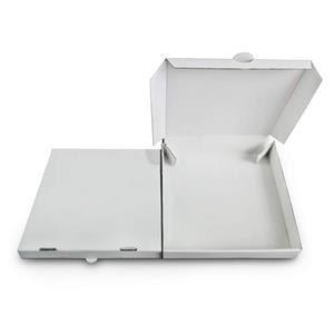Cajas de pizza blancas personalizadas