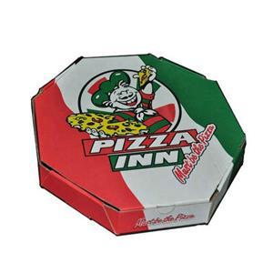 Custom The Pizza Box Round Pizza Box