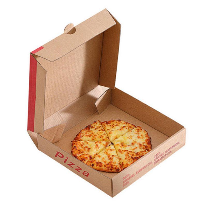 cajas de pizza corrugada
