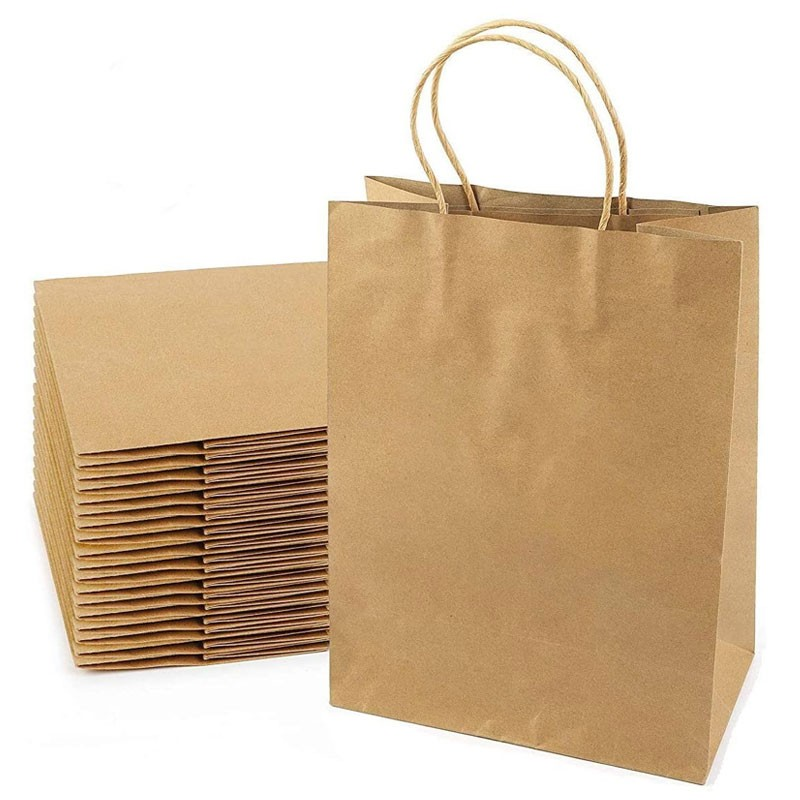 Kraft Paper Carrier Bag