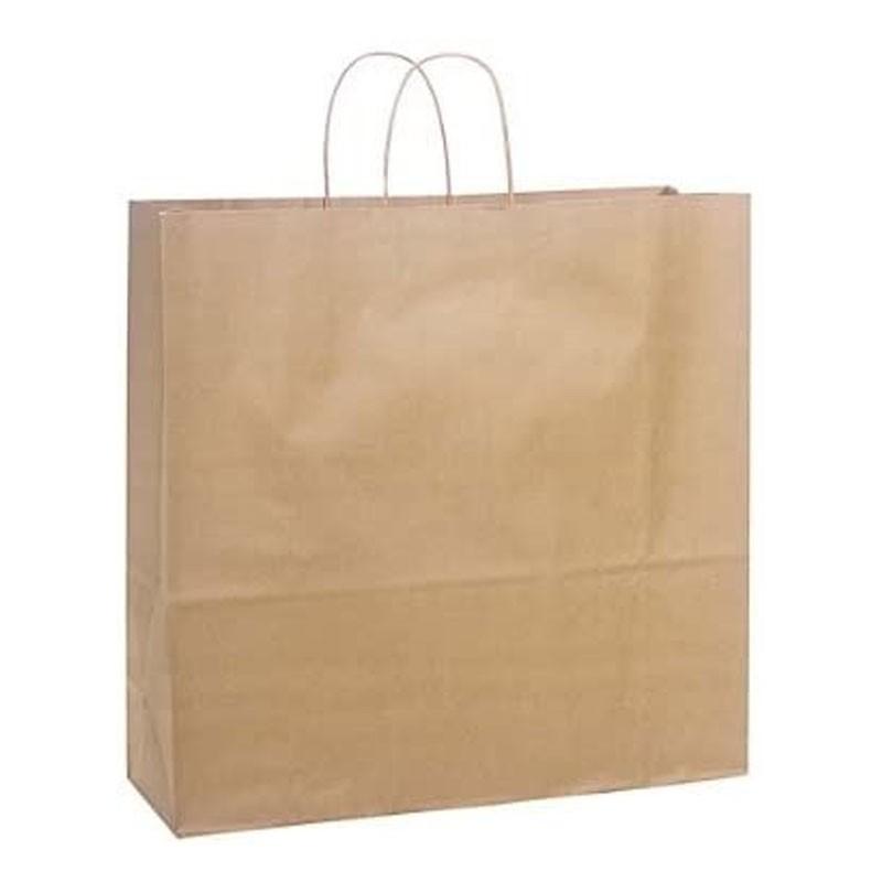 Custom Twisted Handle Bags Kraft Twisted Handle Bags