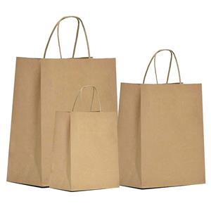 Natural Kraft Paper Gift Bags