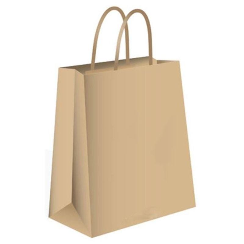 Bolsas de papel Kraft de marca a medida