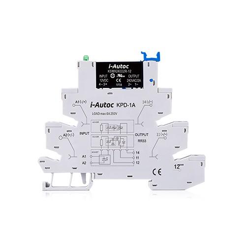 KSMA+D Series Single Phase AC Output SSR