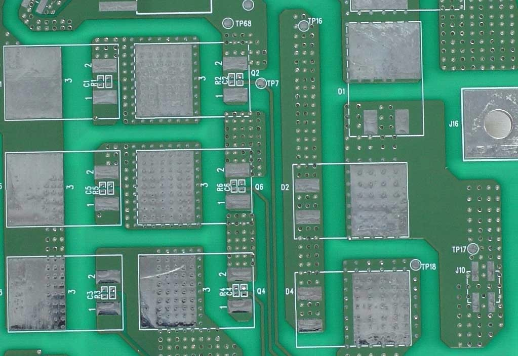 6 Layer Leadless HASL PCB For Medical Device Use