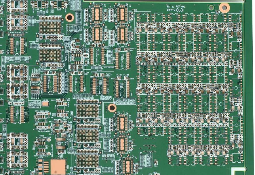 20 Layer FR4 PCB Rigid Circuit Board