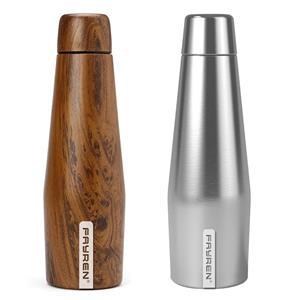 زجاجة ماء ستانلس ستيل معزولة صديقة للبيئة لمدة 24 ساعة