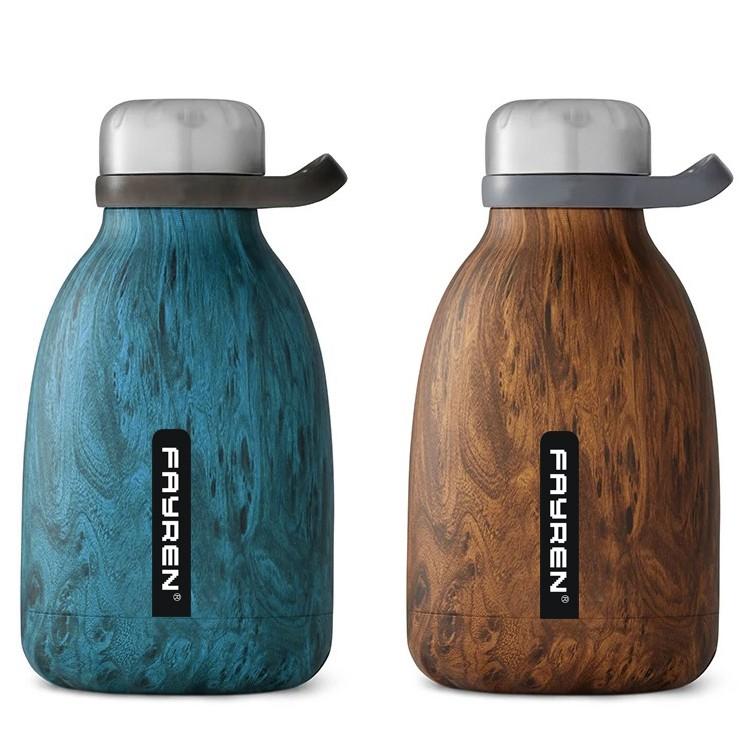 Garrafa de água a vácuo isolada personalizada bonita promocional