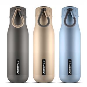 العلامة الخاصة الفولاذ المقاوم للصدأ شرب زجاجة ماء رياضية
