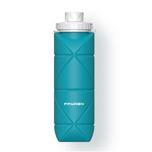 زجاجة ماء قابلة للطي من السيليكون للسفر والتخييم والتخييم والصالة الرياضية والتخييم والتنزه