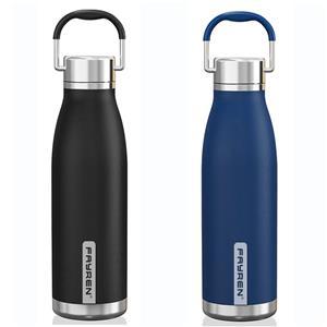 زجاجة قارورة معزولة رياضية قابلة لإعادة الاستخدام وخالية من Bpa