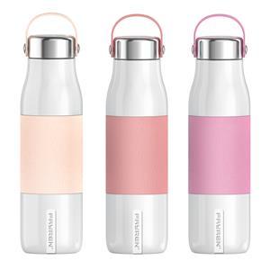 صديقة للبيئة قابلة لإعادة الاستخدام مانعة للتسرب فراغ معزول 500 مل زجاجات المياه تحافظ على 12 ساعة ساخنة و 24 ساعة باردة