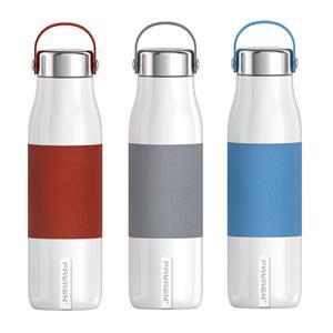 قارورة زجاجة مياه رياضية خالية من مادة BPA مصنوعة من الفولاذ المقاوم للصدأ مثالية للرياضة أو العمل